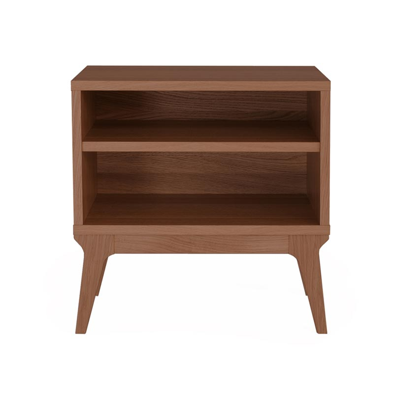 Case Furniture Valentine Bedside Table by Matthew Hilton Olson and Baker - Designer & Contemporary Sofas, Furniture - Olson and Baker showcases original designs from authentic, designer brands. Buy contemporary furniture, lighting, storage, sofas & chairs at Olson + Baker.