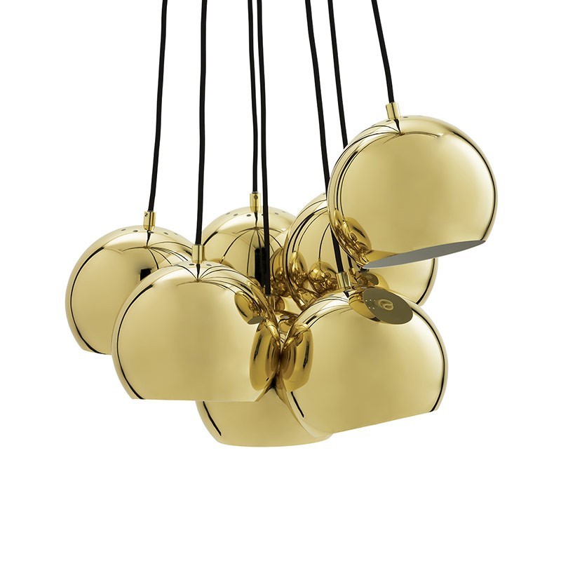 Frandsen Ball Chandelier by Benny Frandsen Olson and Baker - Designer & Contemporary Sofas, Furniture - Olson and Baker showcases original designs from authentic, designer brands. Buy contemporary furniture, lighting, storage, sofas & chairs at Olson + Baker.
