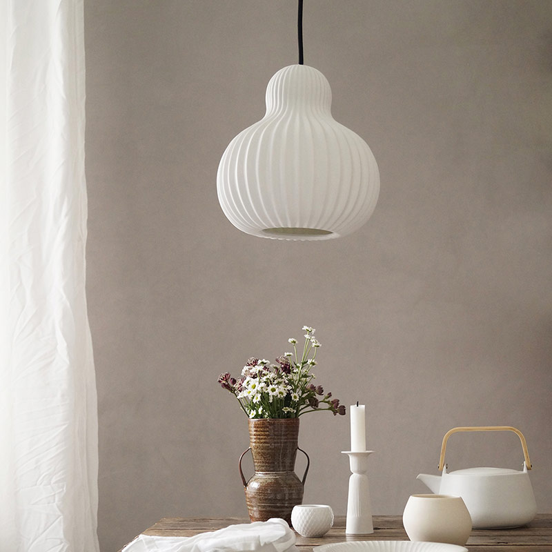 Frandsen-Snowbell-Pendant-Light-by-Philip-Bro-1 Olson and Baker - Designer & Contemporary Sofas, Furniture - Olson and Baker showcases original designs from authentic, designer brands. Buy contemporary furniture, lighting, storage, sofas & chairs at Olson + Baker.