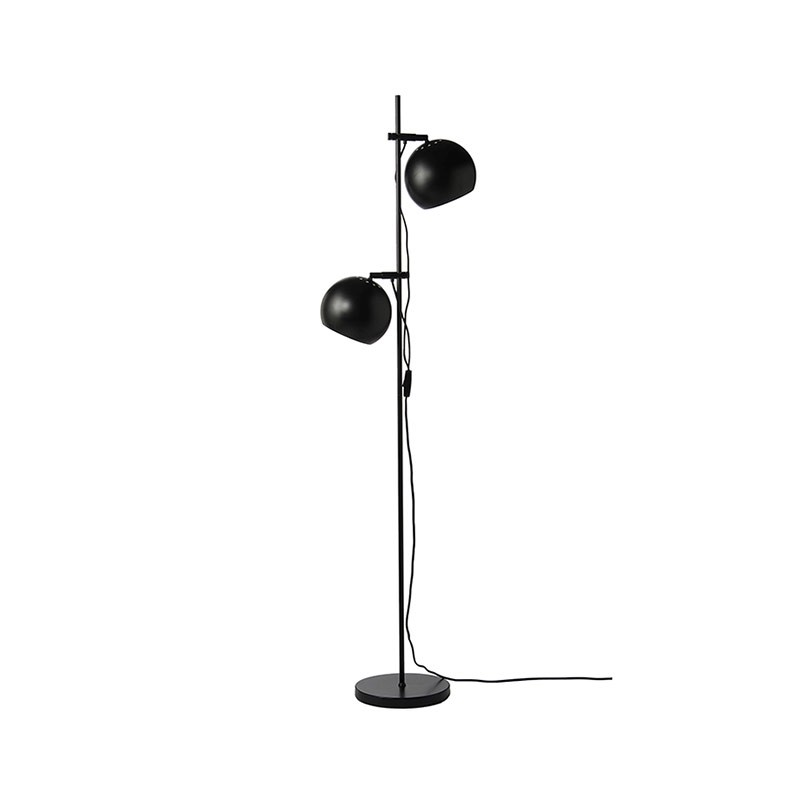 Frandsen Twin Ball Floor Lamp by Benny Frandsen Olson and Baker - Designer & Contemporary Sofas, Furniture - Olson and Baker showcases original designs from authentic, designer brands. Buy contemporary furniture, lighting, storage, sofas & chairs at Olson + Baker.