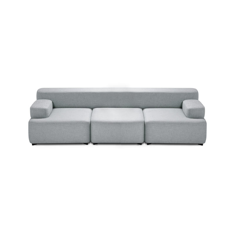 Fritz Hansen Alphabet Three Seat Sofa by Piero Lissoni Olson and Baker - Designer & Contemporary Sofas, Furniture - Olson and Baker showcases original designs from authentic, designer brands. Buy contemporary furniture, lighting, storage, sofas & chairs at Olson + Baker.