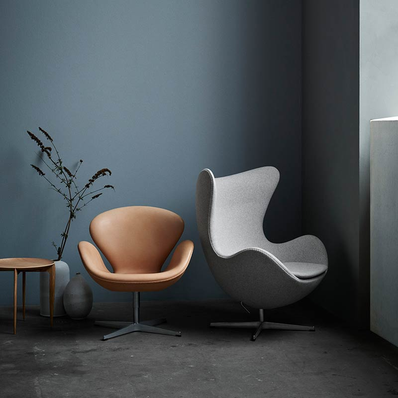 Fritz-Hansen-Egg-Chair-by-Arne-Jacobsen-4-1 Olson and Baker - Designer & Contemporary Sofas, Furniture - Olson and Baker showcases original designs from authentic, designer brands. Buy contemporary furniture, lighting, storage, sofas & chairs at Olson + Baker.