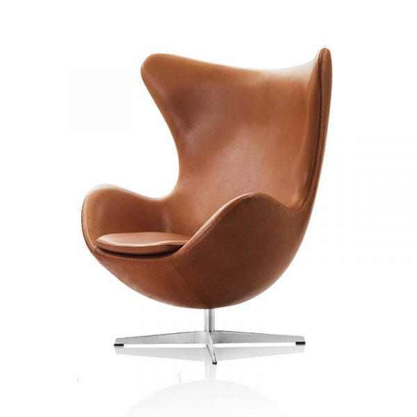 Fritz Hansen Egg Chair by Arne Jacobsen Olson and Baker - Designer & Contemporary Sofas, Furniture - Olson and Baker showcases original designs from authentic, designer brands. Buy contemporary furniture, lighting, storage, sofas & chairs at Olson + Baker.