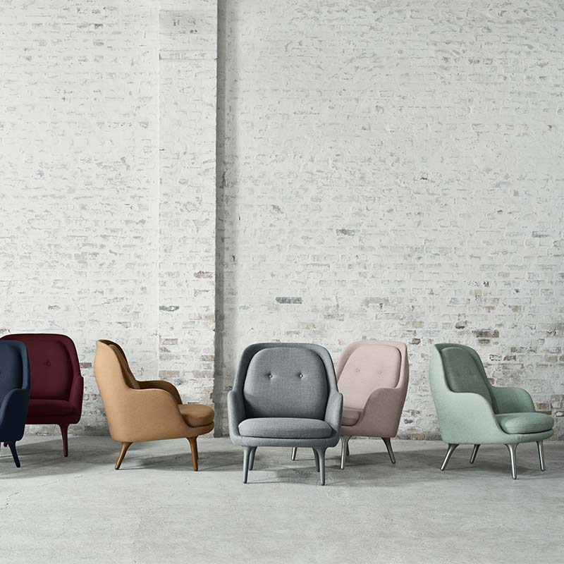 Fritz-Hansen-Fri-Lounge-Chair-by-Jaime-Hayon-1-1 Olson and Baker - Designer & Contemporary Sofas, Furniture - Olson and Baker showcases original designs from authentic, designer brands. Buy contemporary furniture, lighting, storage, sofas & chairs at Olson + Baker.