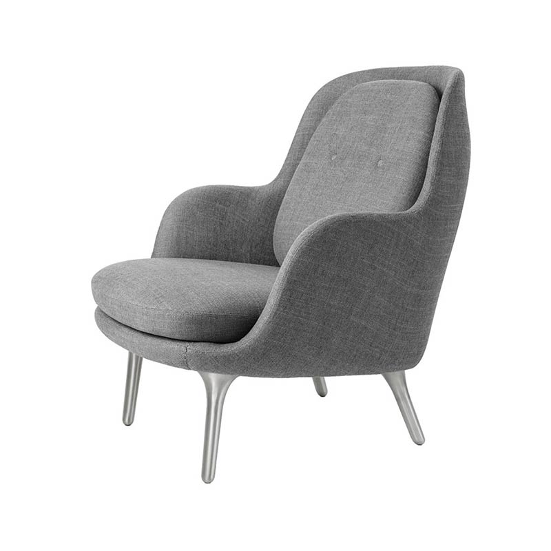 Fritz Hansen Fri Lounge Chair by Jaime Hayon Olson and Baker - Designer & Contemporary Sofas, Furniture - Olson and Baker showcases original designs from authentic, designer brands. Buy contemporary furniture, lighting, storage, sofas & chairs at Olson + Baker.