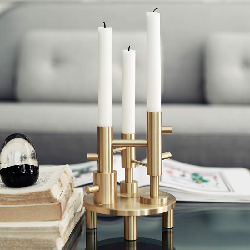 Fritz-Hansen-Hayon-Candleholder-Large-by-Jaime-Hayon-1 Olson and Baker - Designer & Contemporary Sofas, Furniture - Olson and Baker showcases original designs from authentic, designer brands. Buy contemporary furniture, lighting, storage, sofas & chairs at Olson + Baker.