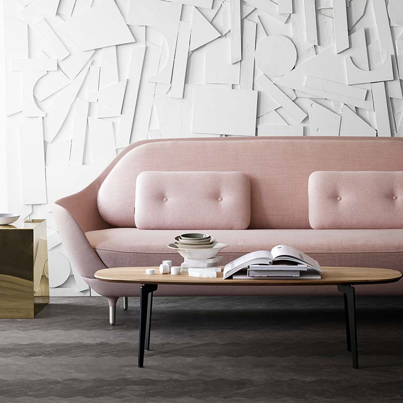Fritz-Hansen-Join-Oval-130x50cm-Coffee-Table-by-Fritz-Hansen-2 Olson and Baker - Designer & Contemporary Sofas, Furniture - Olson and Baker showcases original designs from authentic, designer brands. Buy contemporary furniture, lighting, storage, sofas & chairs at Olson + Baker.