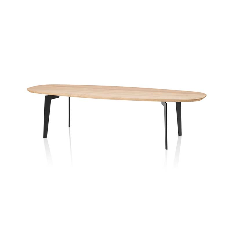 Fritz Hansen Join Oval 130x50cm Coffee Table by Fritz Hansen Olson and Baker - Designer & Contemporary Sofas, Furniture - Olson and Baker showcases original designs from authentic, designer brands. Buy contemporary furniture, lighting, storage, sofas & chairs at Olson + Baker.