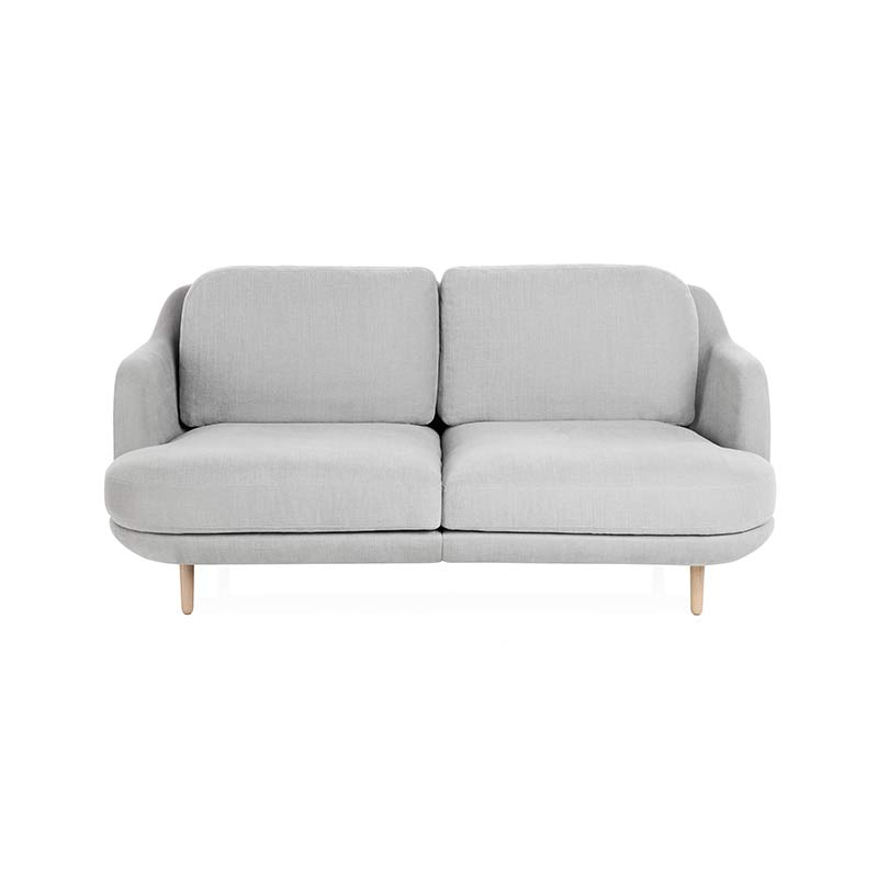 Fritz Hansen Lune Two Seat Sofa by Jaime Hayon Olson and Baker - Designer & Contemporary Sofas, Furniture - Olson and Baker showcases original designs from authentic, designer brands. Buy contemporary furniture, lighting, storage, sofas & chairs at Olson + Baker.