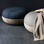 Fritz-Hansen-Manz-60x29cm-Pouf-by-Cecilie-Manz-1 Olson and Baker - Designer & Contemporary Sofas, Furniture - Olson and Baker showcases original designs from authentic, designer brands. Buy contemporary furniture, lighting, storage, sofas & chairs at Olson + Baker.