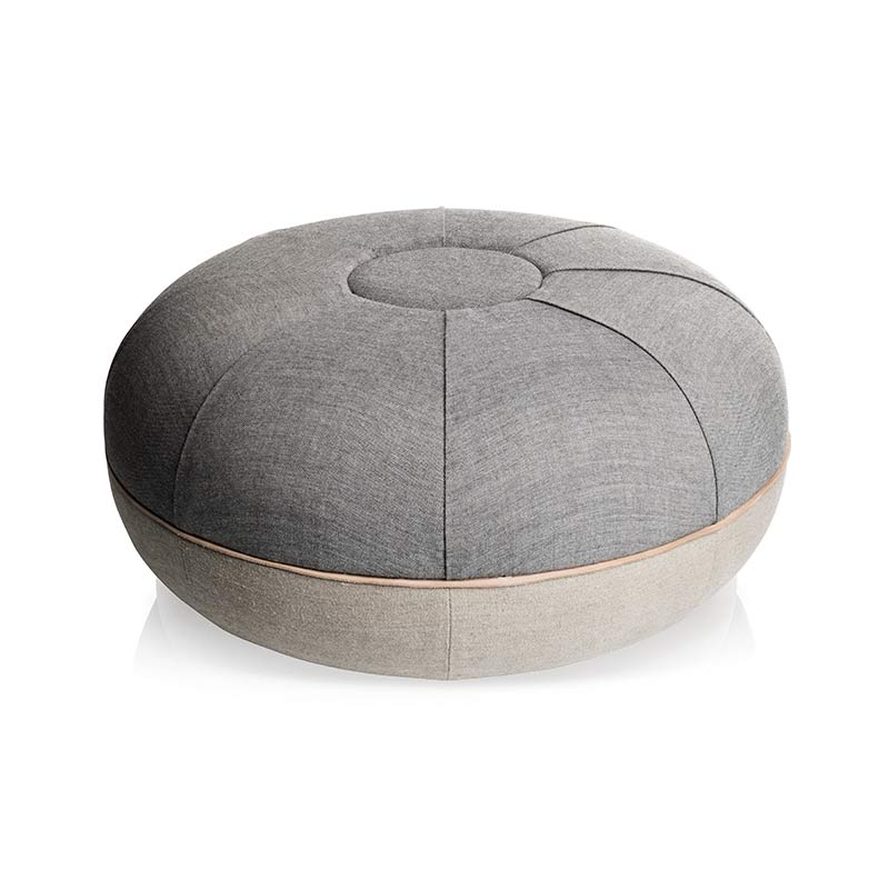 Fritz Hansen Manz 60x29cm Pouf by Cecilie Manz Olson and Baker - Designer & Contemporary Sofas, Furniture - Olson and Baker showcases original designs from authentic, designer brands. Buy contemporary furniture, lighting, storage, sofas & chairs at Olson + Baker.