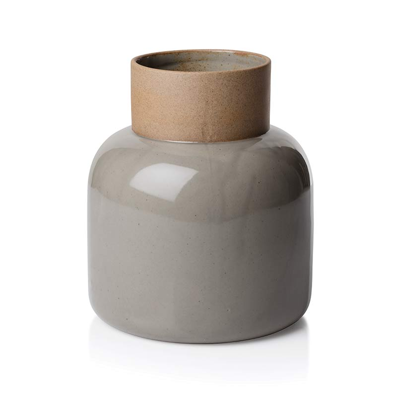 Fritz Hansen Manz Jar Vase by Cecilie Manz Olson and Baker - Designer & Contemporary Sofas, Furniture - Olson and Baker showcases original designs from authentic, designer brands. Buy contemporary furniture, lighting, storage, sofas & chairs at Olson + Baker.