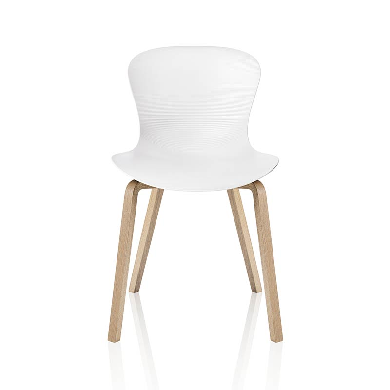 Fritz Hansen NAP Chair with Wood Legs by Kasper Salto
