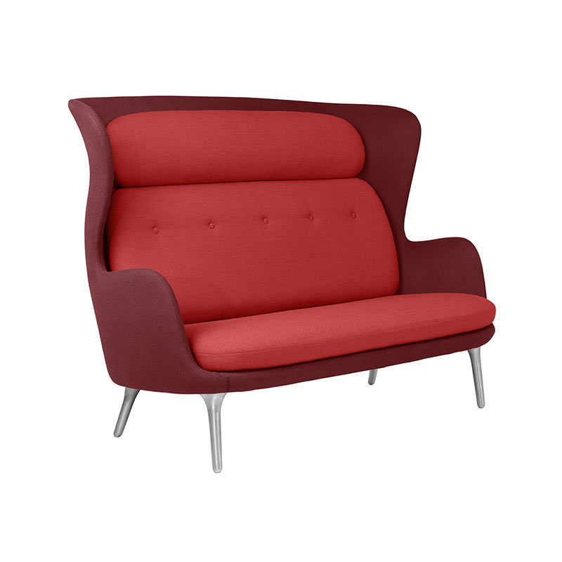 Fritz Hansen Ro Two Seat Sofa by Jaime Hayon Olson and Baker - Designer & Contemporary Sofas, Furniture - Olson and Baker showcases original designs from authentic, designer brands. Buy contemporary furniture, lighting, storage, sofas & chairs at Olson + Baker.