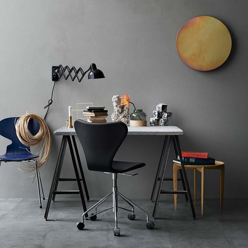 Fritz-Hansen-Roso-Mirror-by-Studio-Roso-1 Olson and Baker - Designer & Contemporary Sofas, Furniture - Olson and Baker showcases original designs from authentic, designer brands. Buy contemporary furniture, lighting, storage, sofas & chairs at Olson + Baker.