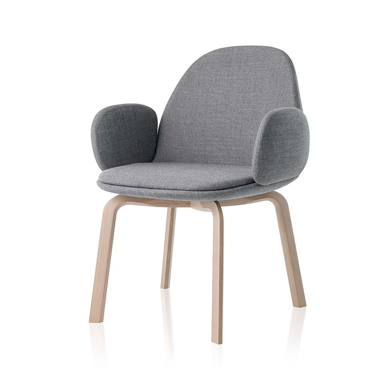 Fritz Hansen Sammen Armchair by Jaime Hayon Olson and Baker - Designer & Contemporary Sofas, Furniture - Olson and Baker showcases original designs from authentic, designer brands. Buy contemporary furniture, lighting, storage, sofas & chairs at Olson + Baker.