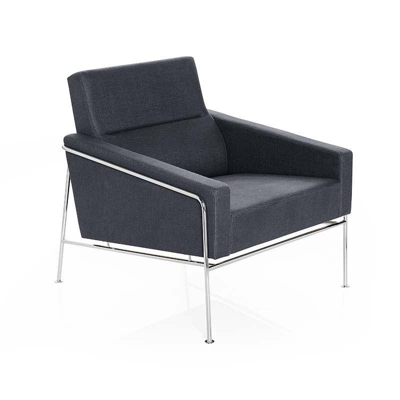 Fritz Hansen Series 3300 Armchair by Arne Jacobsen Olson and Baker - Designer & Contemporary Sofas, Furniture - Olson and Baker showcases original designs from authentic, designer brands. Buy contemporary furniture, lighting, storage, sofas & chairs at Olson + Baker.