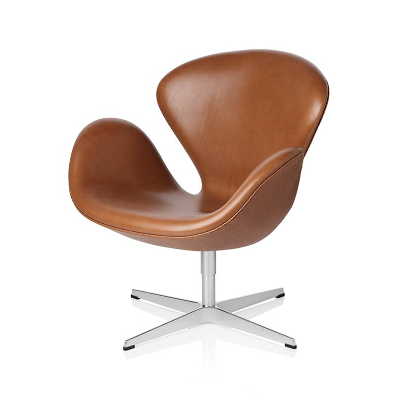 Fritz Hansen Swan Chair by Arne Jacobsen Olson and Baker - Designer & Contemporary Sofas, Furniture - Olson and Baker showcases original designs from authentic, designer brands. Buy contemporary furniture, lighting, storage, sofas & chairs at Olson + Baker.