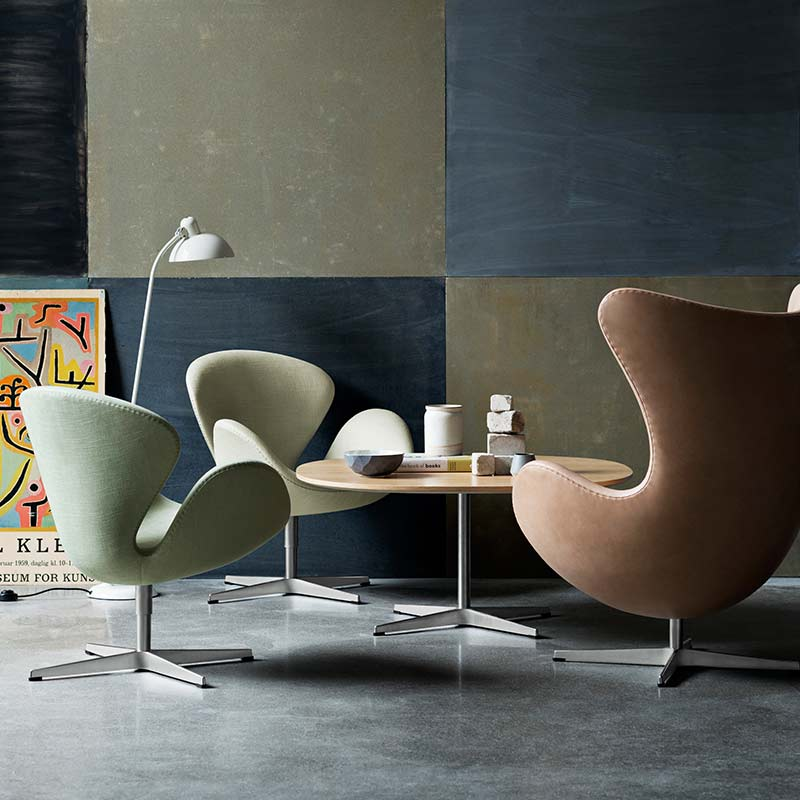 Fritz Hansen Swan Chair by Arne Jacobsen (6) Olson and Baker - Designer & Contemporary Sofas, Furniture - Olson and Baker showcases original designs from authentic, designer brands. Buy contemporary furniture, lighting, storage, sofas & chairs at Olson + Baker.