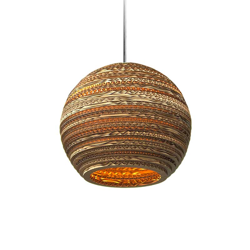 Graypants Moon Pendant Light by Graypants Studio Olson and Baker - Designer & Contemporary Sofas, Furniture - Olson and Baker showcases original designs from authentic, designer brands. Buy contemporary furniture, lighting, storage, sofas & chairs at Olson + Baker.