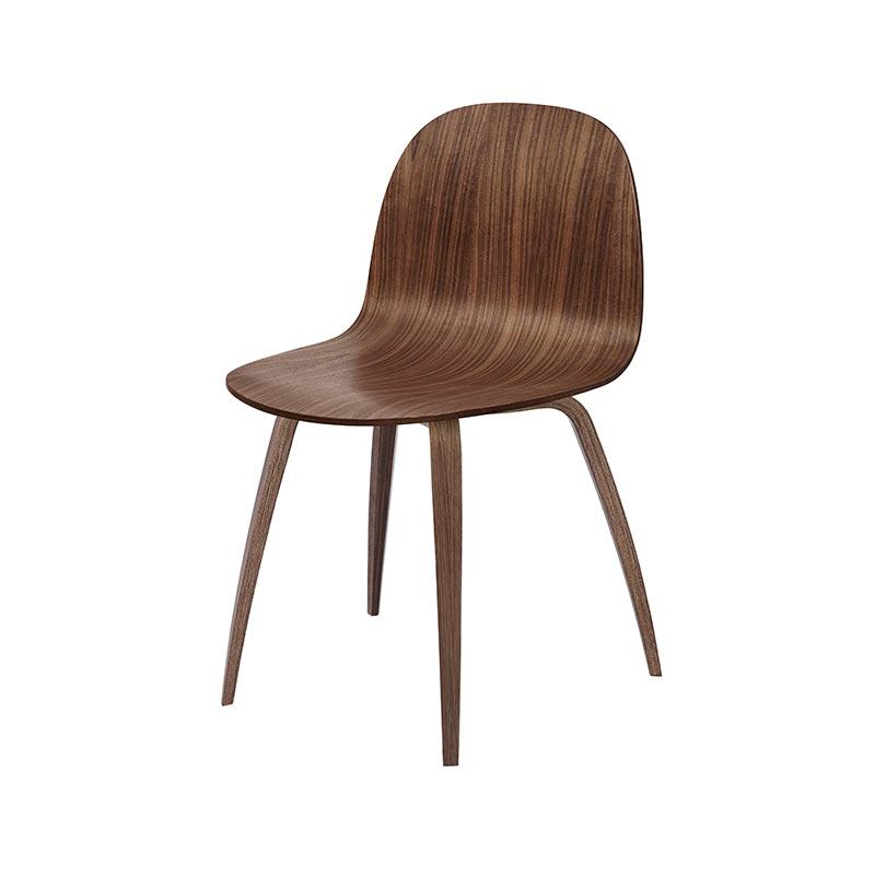 Gubi 2D Dining Chair by Komplot Design