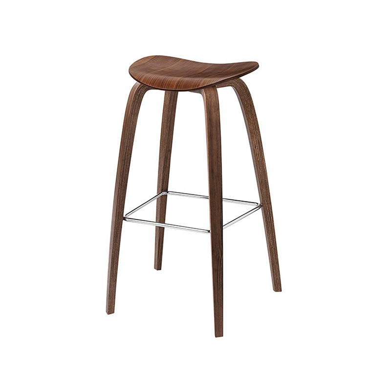 Gubi 2D Counter Stool by Komplot Design Olson and Baker - Designer & Contemporary Sofas, Furniture - Olson and Baker showcases original designs from authentic, designer brands. Buy contemporary furniture, lighting, storage, sofas & chairs at Olson + Baker.
