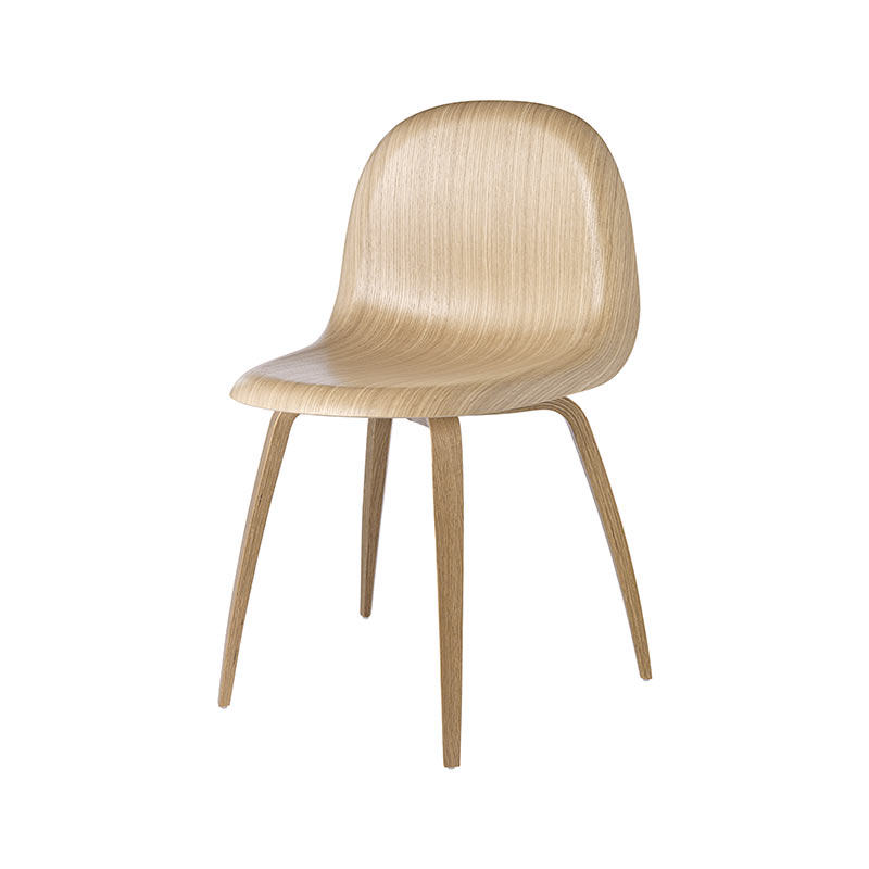 Gubi 3D Dining Chair by Komplot Design Olson and Baker - Designer & Contemporary Sofas, Furniture - Olson and Baker showcases original designs from authentic, designer brands. Buy contemporary furniture, lighting, storage, sofas & chairs at Olson + Baker.