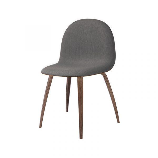 Gubi 3D Front Upholstered Chair by Komplot Design