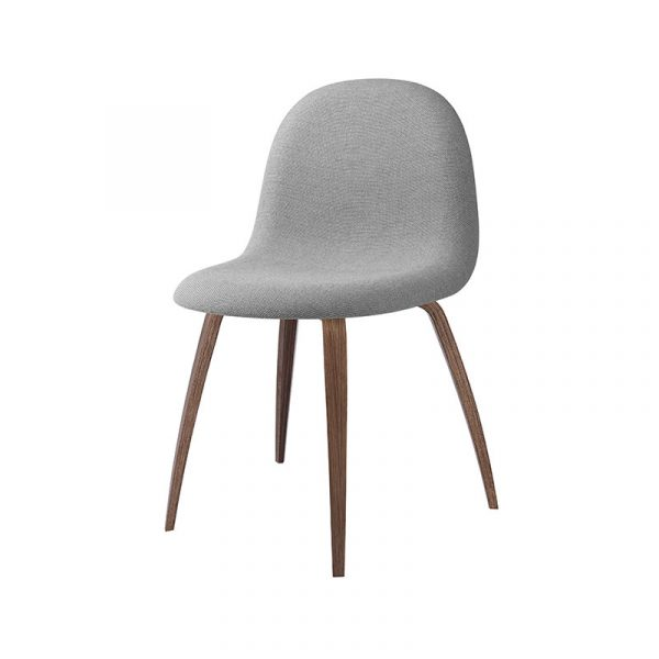 Gubi 3D Fully Upholstered Chair by Komplot Design