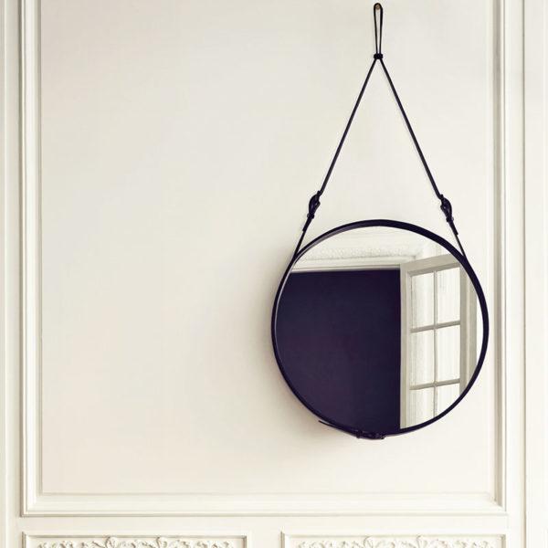 Adnet Circular Wall Mirror
