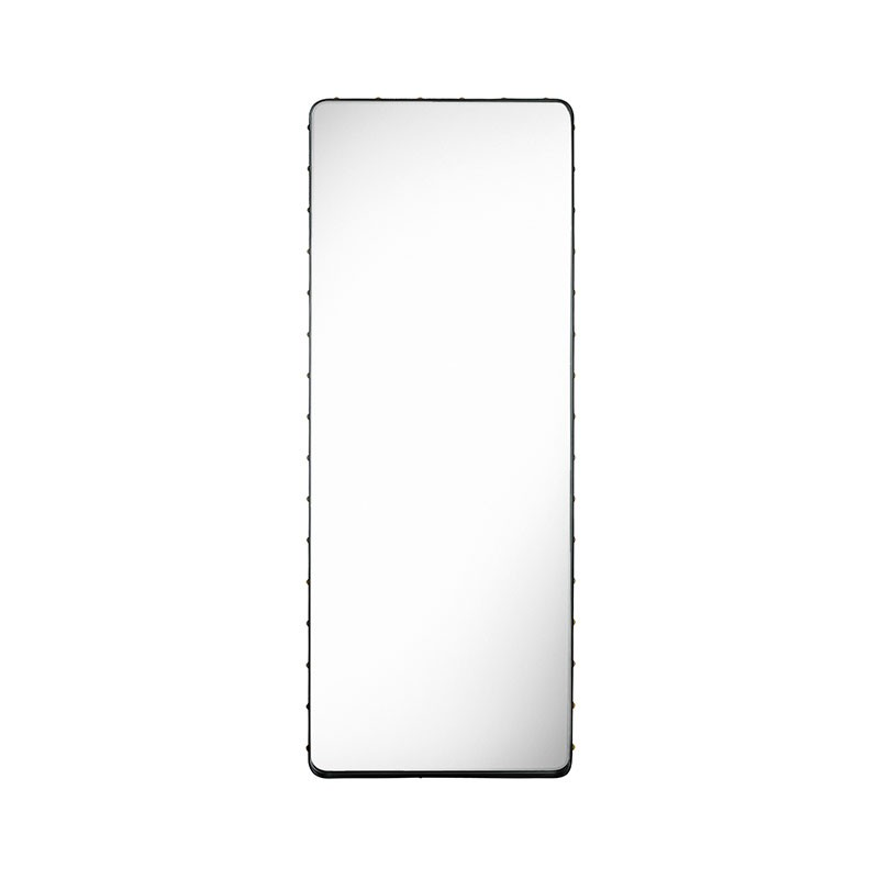 Gubi Adnet Rectangular Wall Mirror by Jacques Adnet Olson and Baker - Designer & Contemporary Sofas, Furniture - Olson and Baker showcases original designs from authentic, designer brands. Buy contemporary furniture, lighting, storage, sofas & chairs at Olson + Baker.