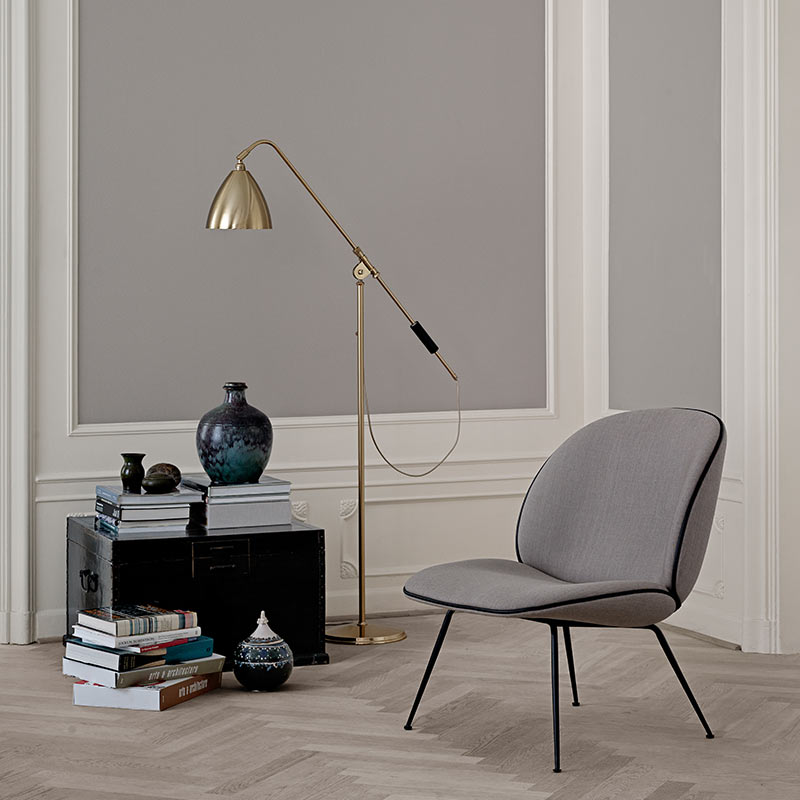 Gubi Bestlite BL4 Floor Lamp in by Robert Dudley Best Olson and Baker - Designer & Contemporary Sofas, Furniture - Olson and Baker showcases original designs from authentic, designer brands. Buy contemporary furniture, lighting, storage, sofas & chairs at Olson + Baker.