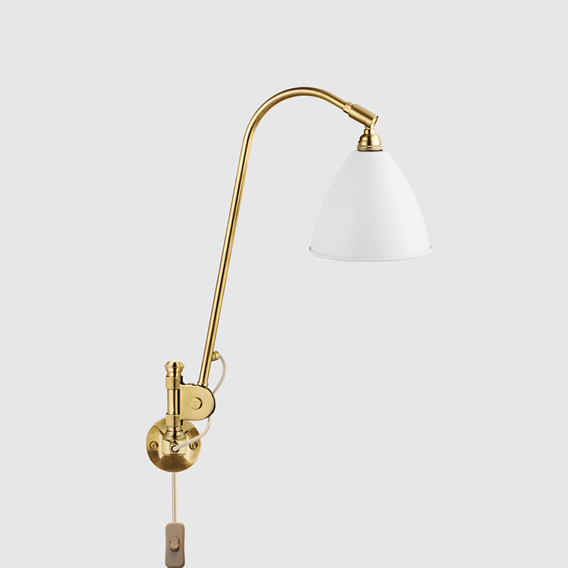 Gubi Bestlite BL6 Wall Lamp by Robert Dudley Best Olson and Baker - Designer & Contemporary Sofas, Furniture - Olson and Baker showcases original designs from authentic, designer brands. Buy contemporary furniture, lighting, storage, sofas & chairs at Olson + Baker.