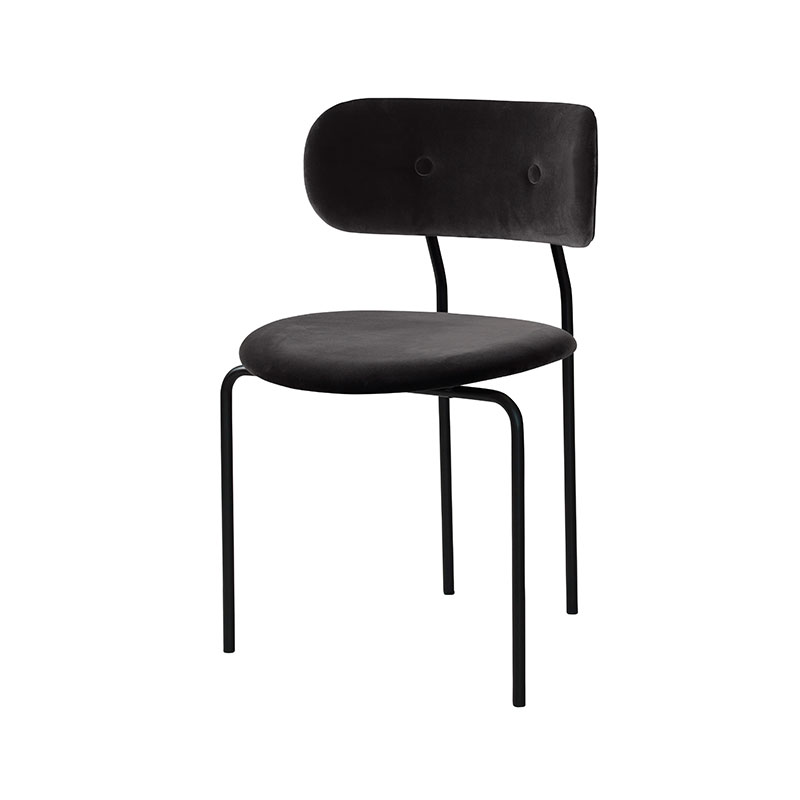 Gubi Coco Dining Chair by OeO Studio Olson and Baker - Designer & Contemporary Sofas, Furniture - Olson and Baker showcases original designs from authentic, designer brands. Buy contemporary furniture, lighting, storage, sofas & chairs at Olson + Baker.