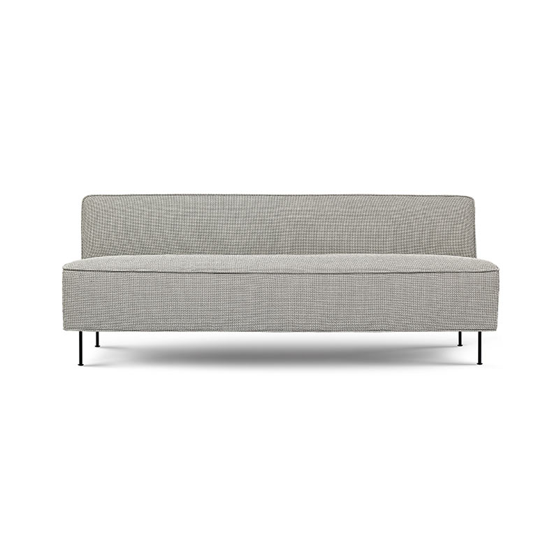 Gubi Modern Line Two Seat Sofa by Greta M. Grossman Olson and Baker - Designer & Contemporary Sofas, Furniture - Olson and Baker showcases original designs from authentic, designer brands. Buy contemporary furniture, lighting, storage, sofas & chairs at Olson + Baker.