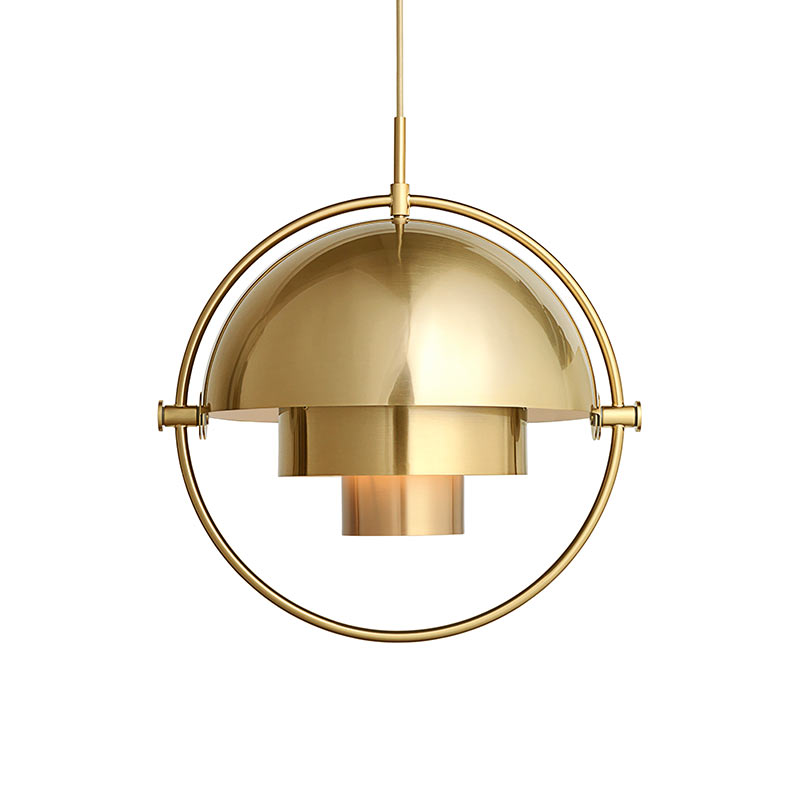 Gubi Multi-Lite Pendant Light by Louis Weisdorf Olson and Baker - Designer & Contemporary Sofas, Furniture - Olson and Baker showcases original designs from authentic, designer brands. Buy contemporary furniture, lighting, storage, sofas & chairs at Olson + Baker.