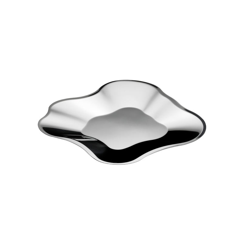 Iittala Aalto 504mm Stainless Steel Bowl by Alvar Aalto Olson and Baker - Designer & Contemporary Sofas, Furniture - Olson and Baker showcases original designs from authentic, designer brands. Buy contemporary furniture, lighting, storage, sofas & chairs at Olson + Baker.
