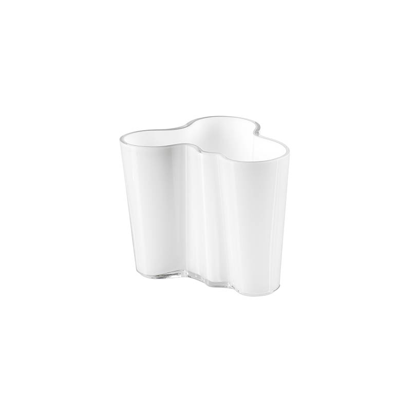 Iittala Aalto 95mm Glass Vase by Alvar Aalto Olson and Baker - Designer & Contemporary Sofas, Furniture - Olson and Baker showcases original designs from authentic, designer brands. Buy contemporary furniture, lighting, storage, sofas & chairs at Olson + Baker.