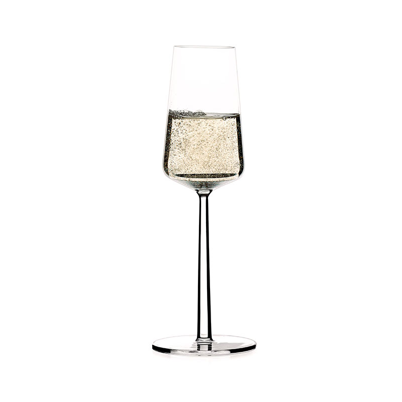 Iittala-Essence-210ml-Champagne-Glass-Set-of-Six-by-Alfredo-Häberli-1 Olson and Baker - Designer & Contemporary Sofas, Furniture - Olson and Baker showcases original designs from authentic, designer brands. Buy contemporary furniture, lighting, storage, sofas & chairs at Olson + Baker.