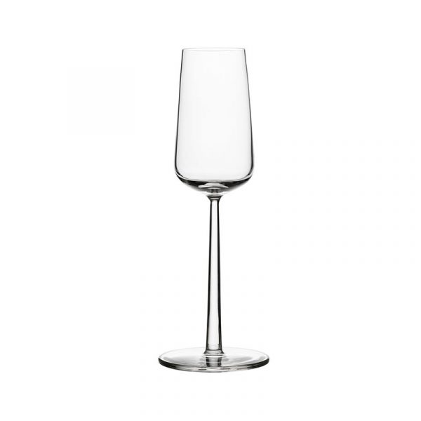 Iittala Essence 210ml Champagne Glass - Set of Six by Alfredo Häberli Olson and Baker - Designer & Contemporary Sofas, Furniture - Olson and Baker showcases original designs from authentic, designer brands. Buy contemporary furniture, lighting, storage, sofas & chairs at Olson + Baker.