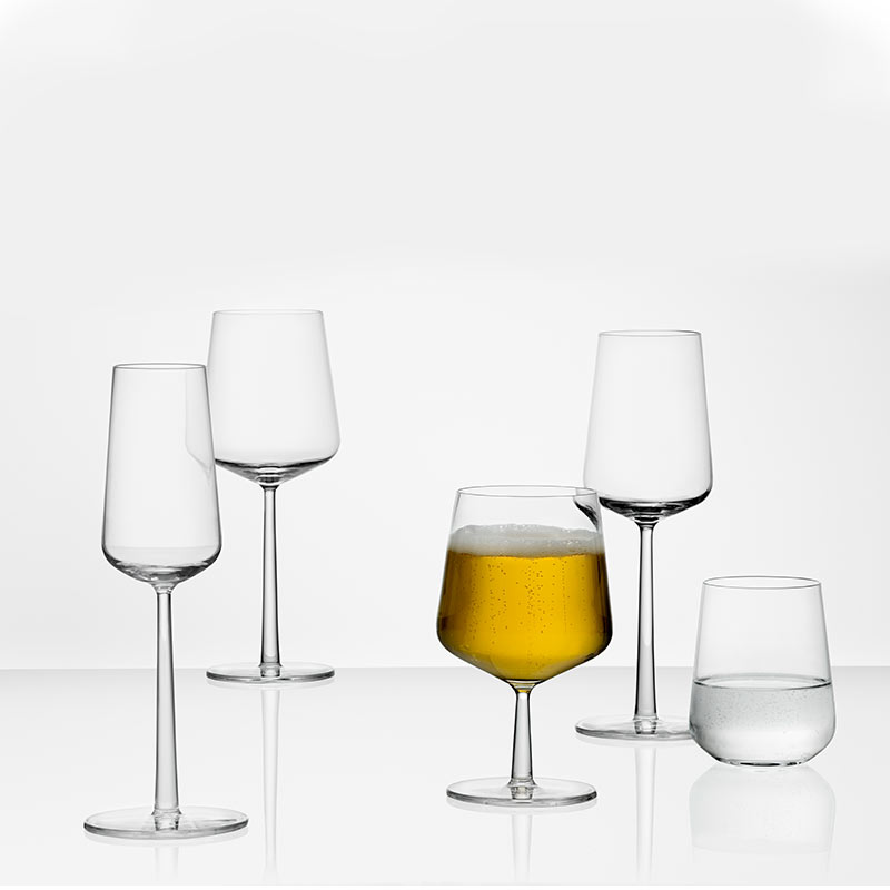 Iittala-Essence-330ml-White-Wine-Glass-Set-of-Four-by-Alfredo-Häberli-2 Olson and Baker - Designer & Contemporary Sofas, Furniture - Olson and Baker showcases original designs from authentic, designer brands. Buy contemporary furniture, lighting, storage, sofas & chairs at Olson + Baker.