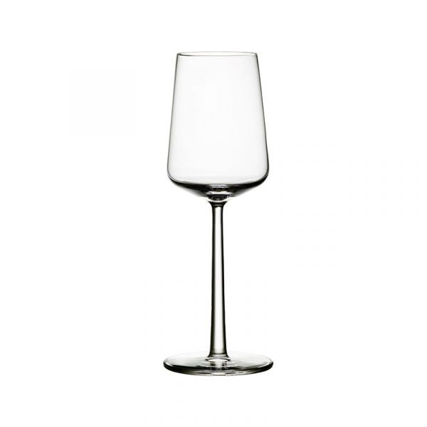 Iittala Essence 330ml White Wine Glass - Set of Six by Alfredo Häberli Olson and Baker - Designer & Contemporary Sofas, Furniture - Olson and Baker showcases original designs from authentic, designer brands. Buy contemporary furniture, lighting, storage, sofas & chairs at Olson + Baker.