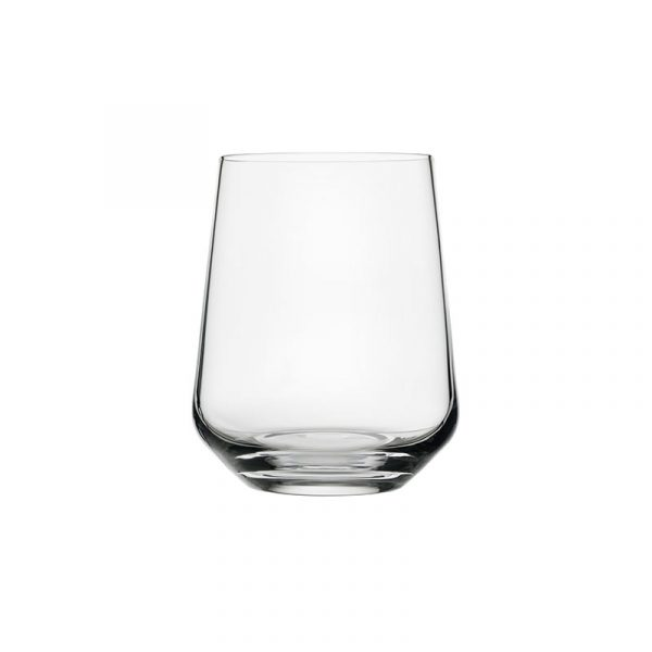 Iittala Essence 350ml Tumbler Glass - Set of Six by Alfredo Häberli Olson and Baker - Designer & Contemporary Sofas, Furniture - Olson and Baker showcases original designs from authentic, designer brands. Buy contemporary furniture, lighting, storage, sofas & chairs at Olson + Baker.