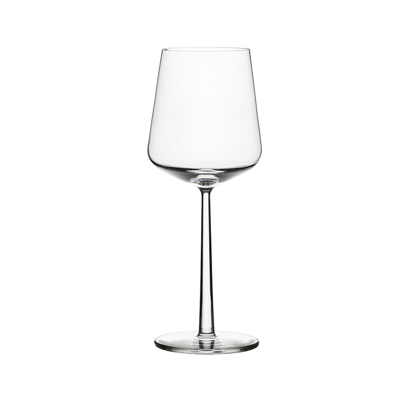 Iittala Essence 450ml Red Wine Glass- Set of Four by Alfredo Häberli Olson and Baker - Designer & Contemporary Sofas, Furniture - Olson and Baker showcases original designs from authentic, designer brands. Buy contemporary furniture, lighting, storage, sofas & chairs at Olson + Baker.