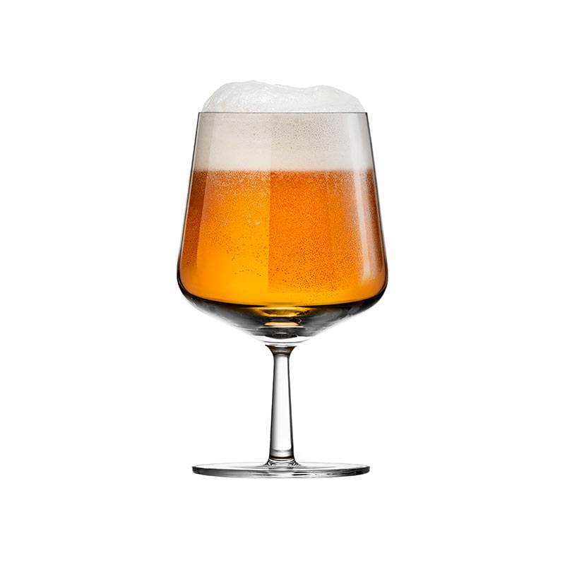Iittala-Essence-480ml-Beer-Glass-Set-of-Six-by-Alfredo-Häberli-1 Olson and Baker - Designer & Contemporary Sofas, Furniture - Olson and Baker showcases original designs from authentic, designer brands. Buy contemporary furniture, lighting, storage, sofas & chairs at Olson + Baker.