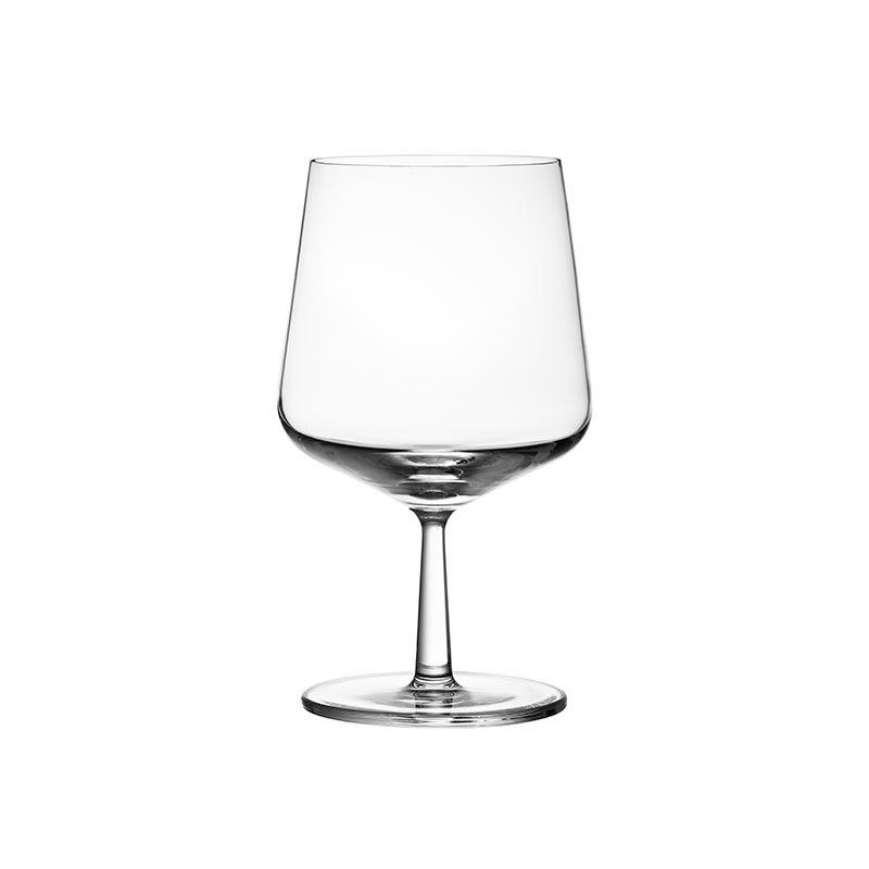 Iittala Essence 480ml Beer Glass - Set of Six by Alfredo Häberli Olson and Baker - Designer & Contemporary Sofas, Furniture - Olson and Baker showcases original designs from authentic, designer brands. Buy contemporary furniture, lighting, storage, sofas & chairs at Olson + Baker.
