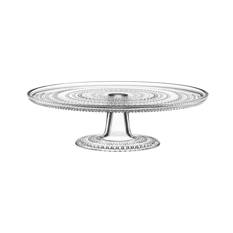 Iittala Kastehelmi 315mm Cake Stand by Oiva Toikka Olson and Baker - Designer & Contemporary Sofas, Furniture - Olson and Baker showcases original designs from authentic, designer brands. Buy contemporary furniture, lighting, storage, sofas & chairs at Olson + Baker.