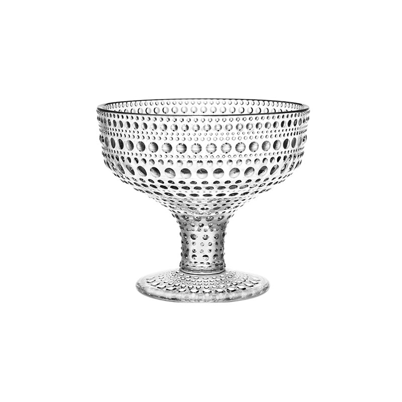 Iittala Kastehelmi 350ml Bowl - Set of Six by Oiva Toikka Olson and Baker - Designer & Contemporary Sofas, Furniture - Olson and Baker showcases original designs from authentic, designer brands. Buy contemporary furniture, lighting, storage, sofas & chairs at Olson + Baker.