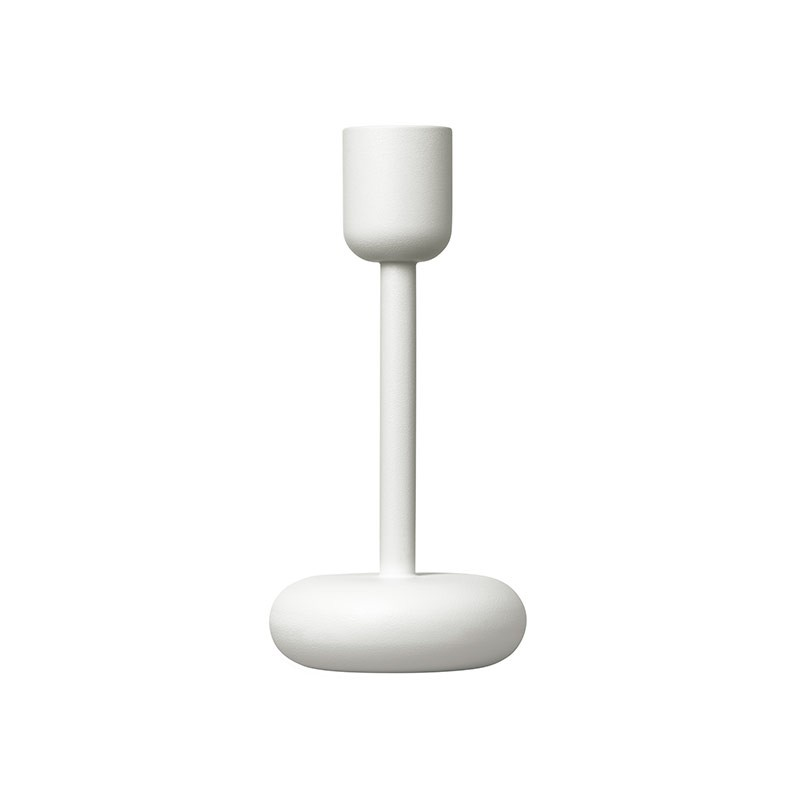 Iittala Nappula 183mm Candleholder by Matti Klenell Olson and Baker - Designer & Contemporary Sofas, Furniture - Olson and Baker showcases original designs from authentic, designer brands. Buy contemporary furniture, lighting, storage, sofas & chairs at Olson + Baker.