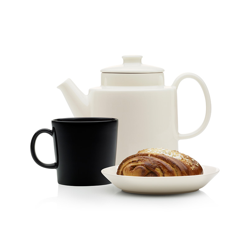 Iittala-Teema-1.65L-Teapot-with-Lid-by-Kaj-Franck-1 Olson and Baker - Designer & Contemporary Sofas, Furniture - Olson and Baker showcases original designs from authentic, designer brands. Buy contemporary furniture, lighting, storage, sofas & chairs at Olson + Baker.